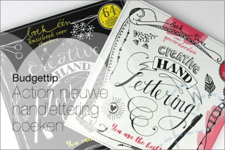 Budgettip: Action Creative handlettering Dutchbook