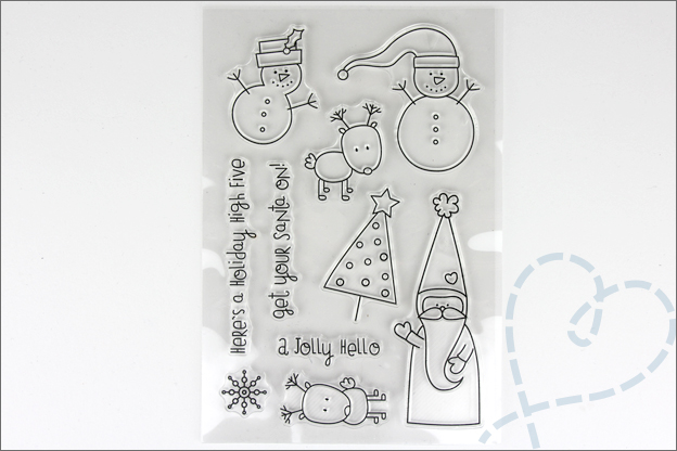 Aliexpress shoplog kerst clear stamps cartoon