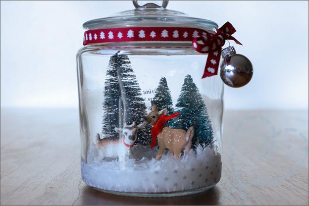 Kersttafereel in pot maken