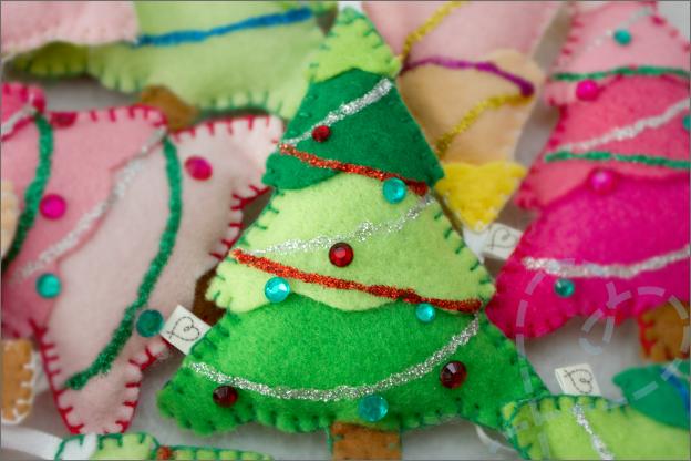 tutorial kerstboom van vilt