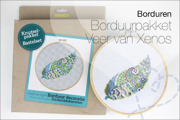 Borduurpakket xenos borduren veer