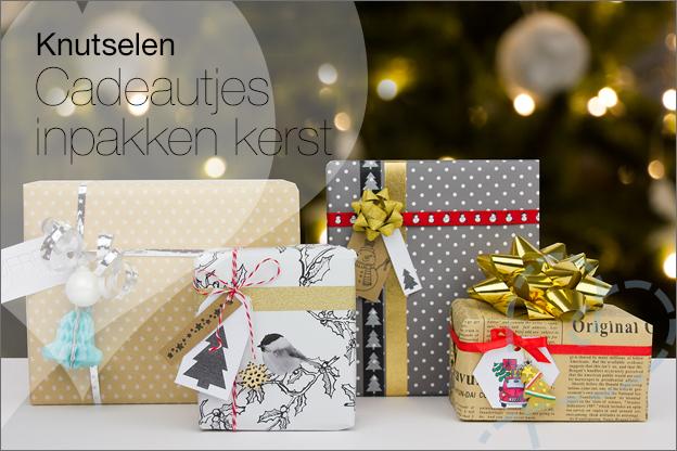 Ideeen origineel Cadeau inpakken kerst DIY