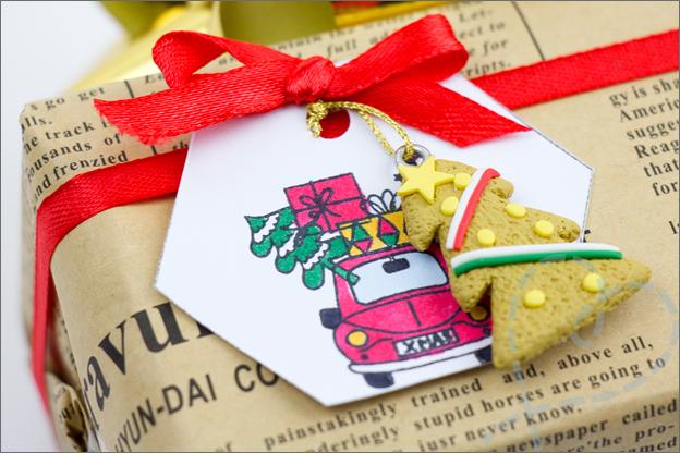 feestelijk cadeau kerst inpakken ideeën detail