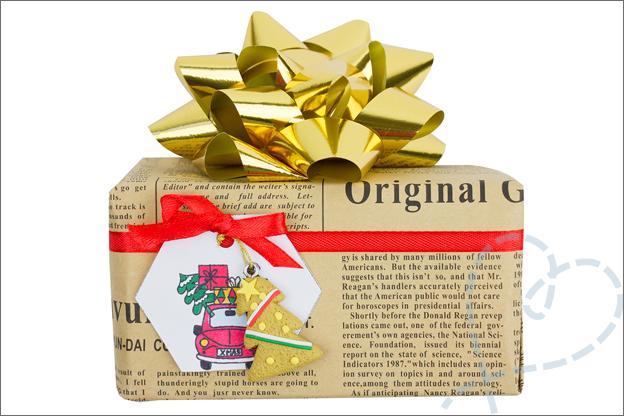 feestelijk cadeau kerst inpakken ideeen
