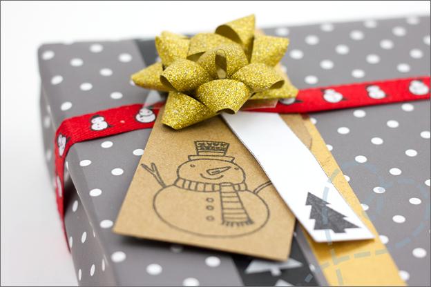 stoer kerstcadeau zelf inpakken voor kerst stoer man detail