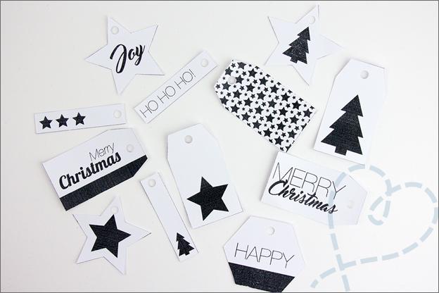 zelf maken DIY Cadeaulabels gratis printable
