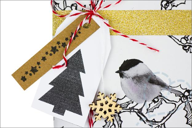 zelf maken DIY Cadeaulabels gratis printable kerst