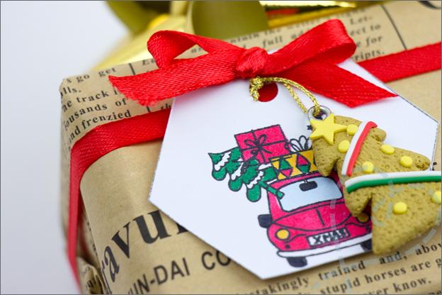 zelf maken Diy Cadeaulabels kerst