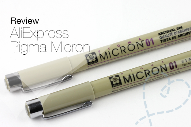 AliExpress Pigma micron review