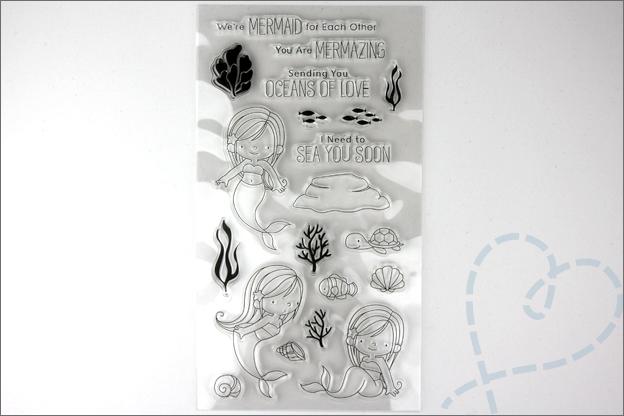 Aliexpress shoplog clear stamps kaarten Maken