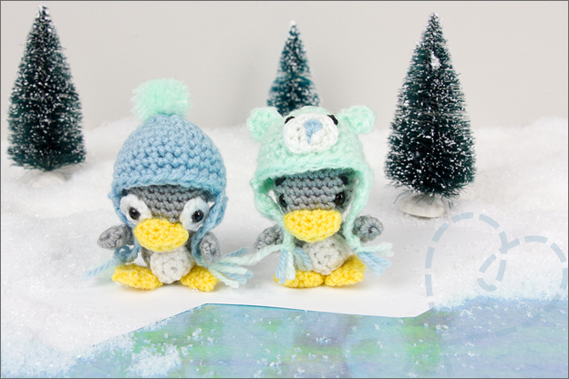 Haken patroon pinguins