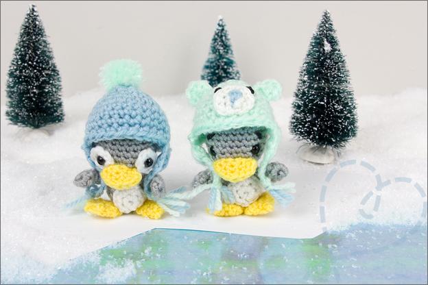 Haken patroon pinguins