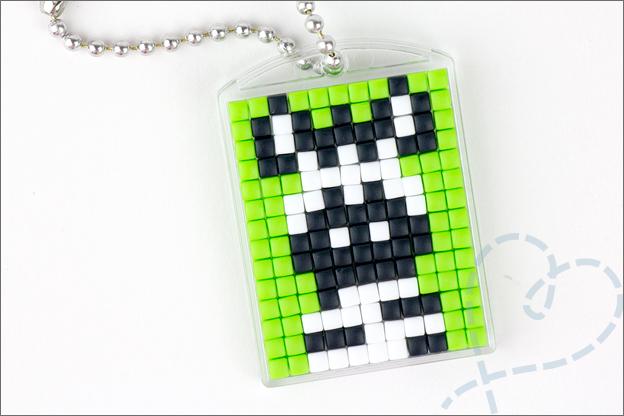 Pixel art sleutelhanger pixelhobby