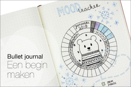 Bullet journal #1: een begin maken
