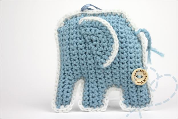haken olifant patroon