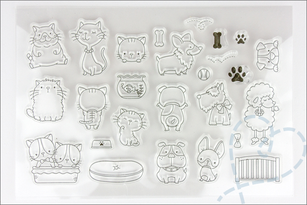 grote Aliexpress shoplog jan2018 clear stamps honden katten