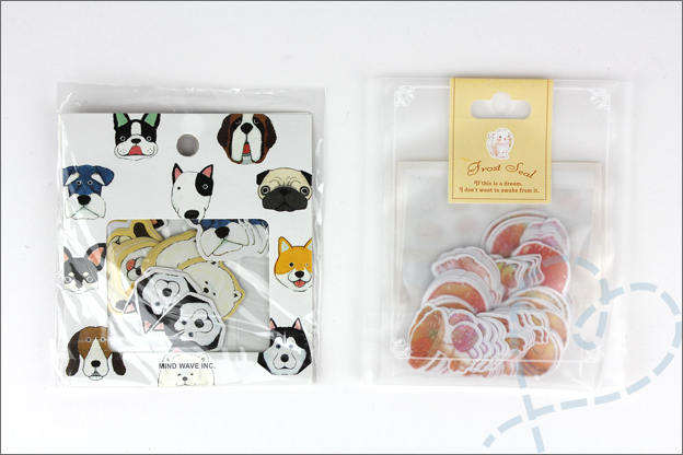 AliExpress stickers herfst honden shoplog