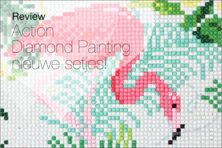 Review: Action, make your own diamond painting