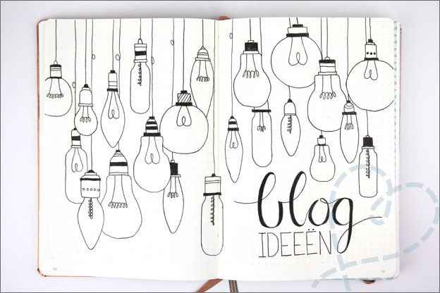 Bullet journal inspiratie blog ideeen