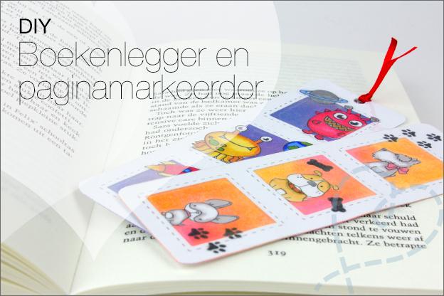 DIY Boekenlegger paginamarkeerder makkelijk papier tutorial