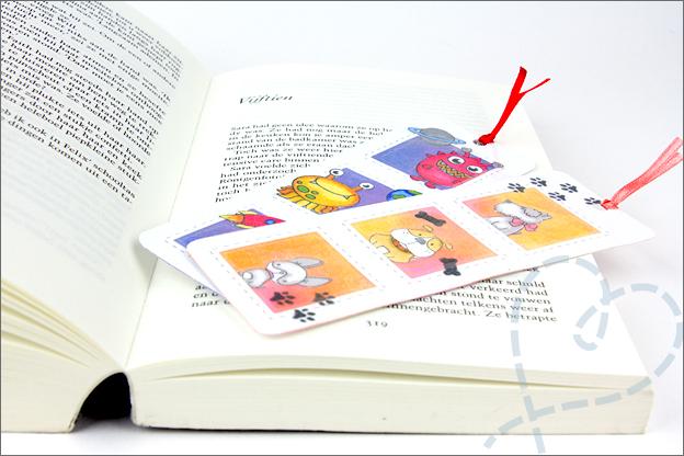 DIY boekenlegger uitleg makkelijk eindresultaat