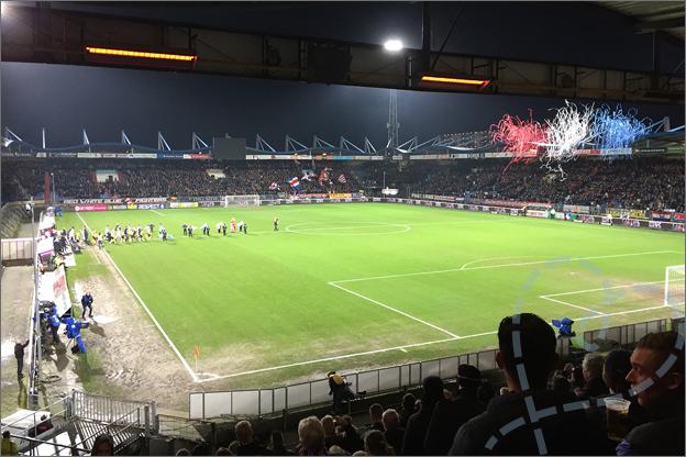 Willem II bekerwedstrijd
