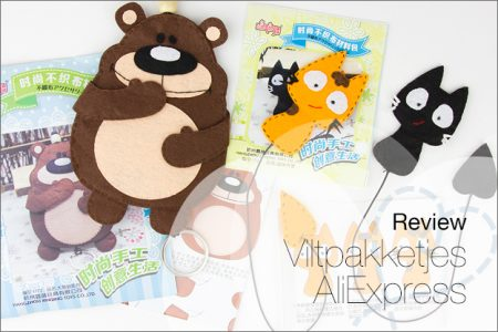 Review: complete viltpakketjes AliExpress