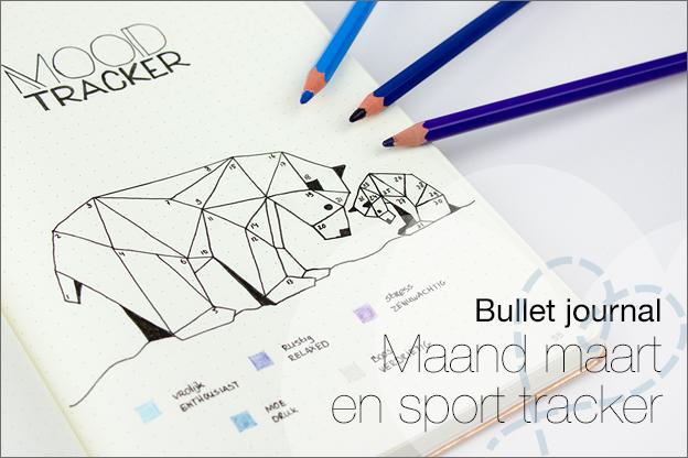Bullet journal inspiratie maart paginas