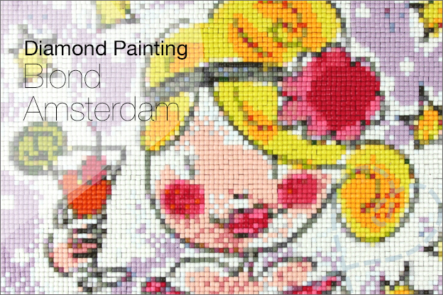 Diamond painting AliExpress blond amsterdam review