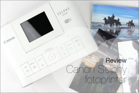 Review: Fotoprinter Canon Selphy CP1200