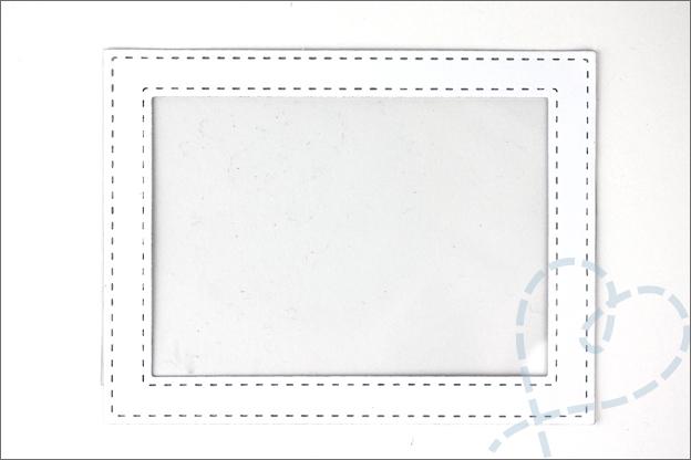 Schudkaart DIY kader DoubleDo XL