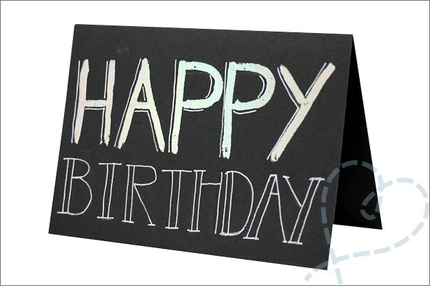 Xenos zelf maken Foliekaart verjaardag
