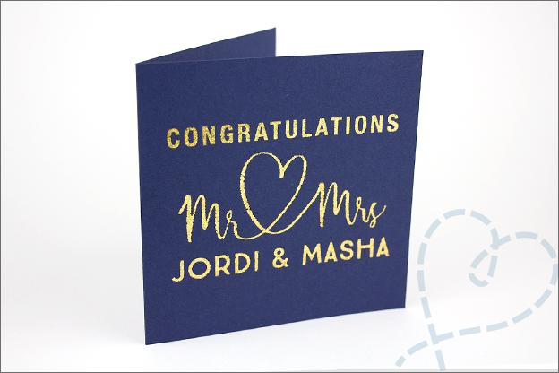 kaart bruiloft keuze eindresultaat