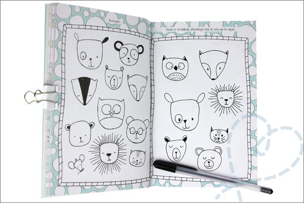 Kruidvat doodling werkboek beesten dieren