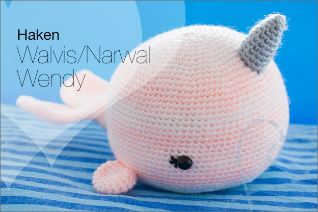 Haken haakpatroon walvis Narwal