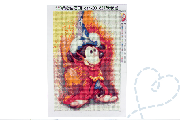 Diamond painting AliExpress disney mickey review