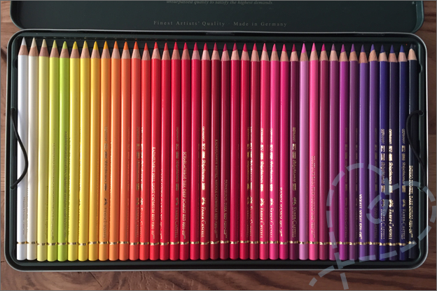 verjaardagscadeau kleurpotloden