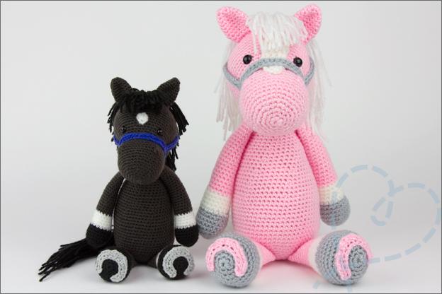 paard haken piem groot klein