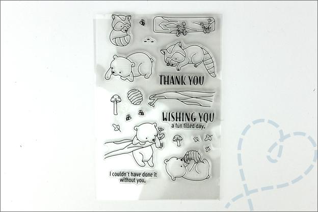 AliExpress shoplog knutselen clear stamps beren vossen