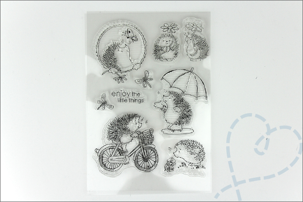AliExpress shoplog knutselen clear stamps egel