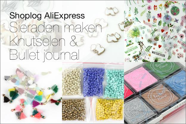 AliExpress shoplog Knutselen DIY Sieraden