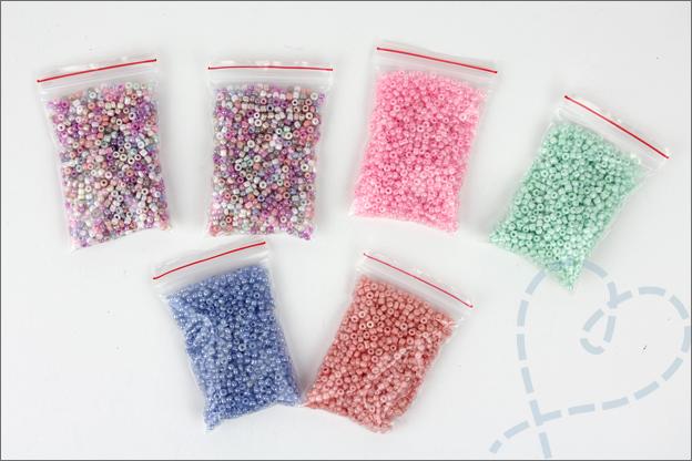 AliExpress sieraden maken Rocailles pastel 2mm