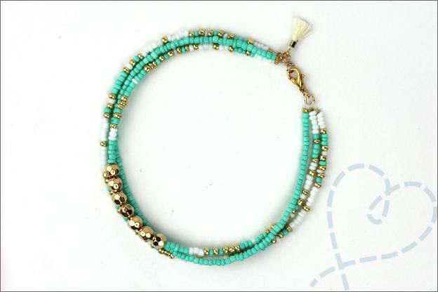 Enkelbandje maken inspiratie sieraden maken