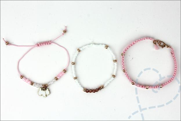 Armbandenset zelfmaken DIY creatief uitleg
