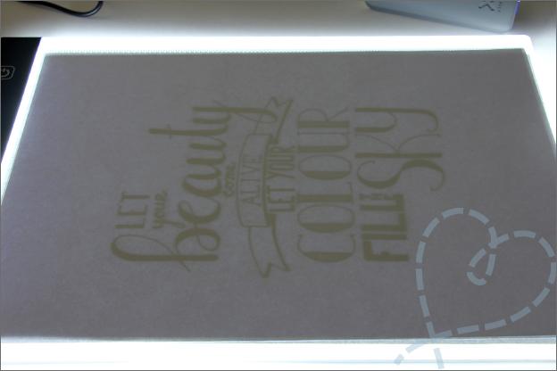 Action LED licht tekenbord ervaring