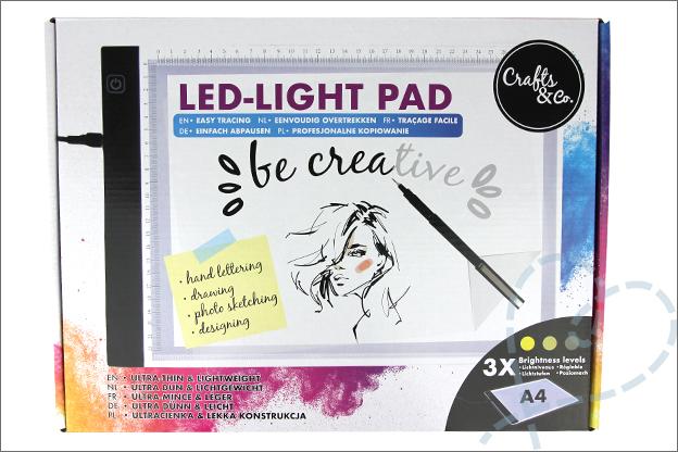 Action shoplog led licht tekenbord