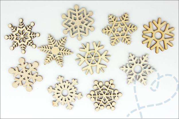 Aliexpress shoplog kerst 2018 houten sneeuwvlokjes