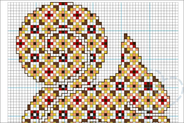 Borduurpatroon eekhoorn gratis pdf