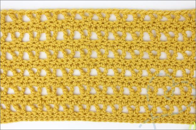 Confetti sjaal haken toer 1 t/m 12