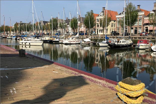 Vakantie Friesland Harlingen haven